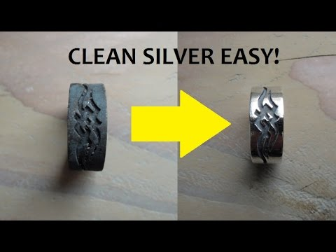Cleaning Tarnished Silver the Easy Way!