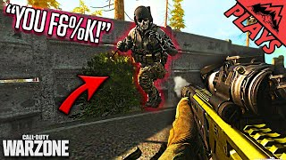 HE WAS MAD! - Warzone Battle Royale