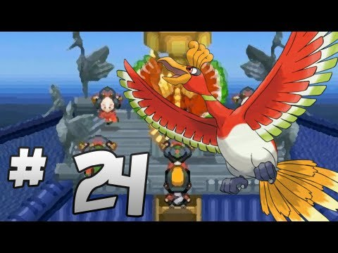 Let's Play Pokemon: HeartGold - Part 24 - Ho-Oh