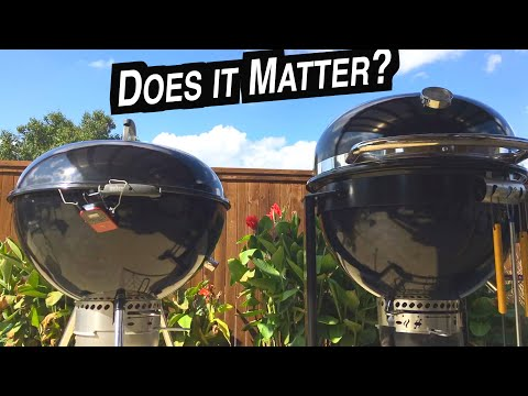 Pulled Pork Throwdown! Weber Summit Charcoal Grill vs Slow 'N Sear 27 kettle   How to smoke Center