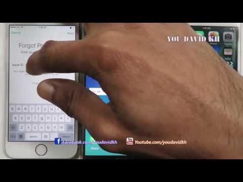 របៀប reset password apple id ពេលយេីងភ្លេចលេខសំងាត់/touch chanthy