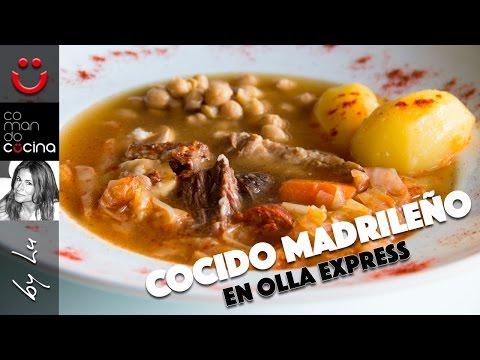 COCIDO MADRILEÑO en olla express I Comando Cocina