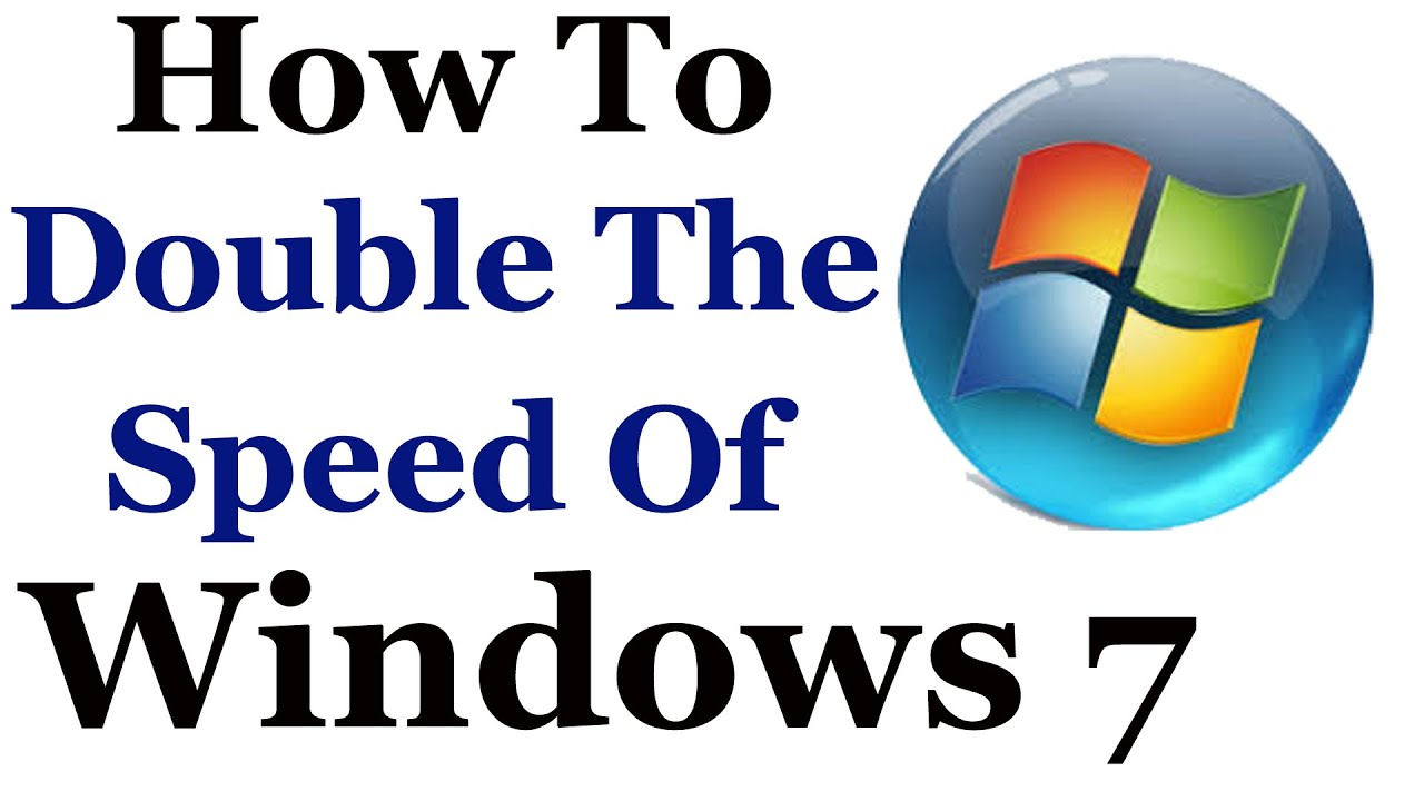 Windows 7 Tutorial - How To Make It Faster & Improve It's Over All Performance