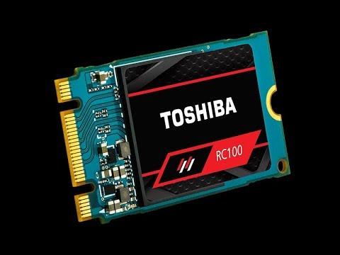 ✅Toshiba OCZ RC100 Smallest NVMe M.2 SSD Review