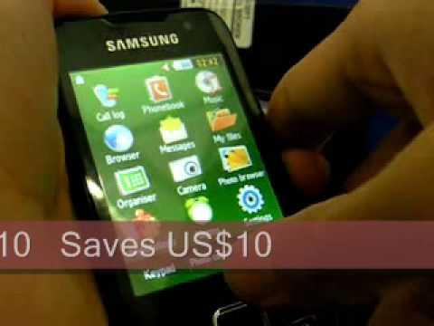 whatsapp per samsung gt s5230w