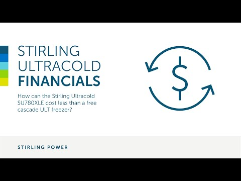 How can the Stirling Ultracold SU780XLE cost less than a free cascade ULT freezer?
