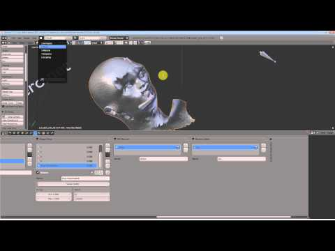 Blender 3d Modeling Tutorial (5) - Facial expressions and the Sculpt Key