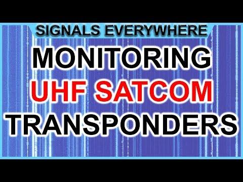 UHF Satcom Transponders Close Up on the Airspy SDR