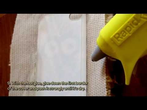 How To Make A Furry Cozy Phone Cover - DIY Style Tutorial - Guidecentral