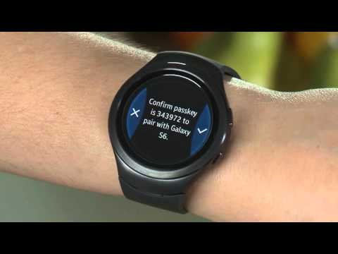 Samsung Gear S2 (SM-R720) - Pairing and Downloading Samsung Gear