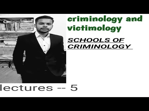 SCHOOLS OF CRIMINOLOGY  CLASSES IN HINDI !! CRIMINOLOGY AND PENOLOGY!!