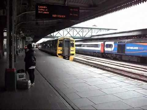Trains At Nottingham (24/09/2010)