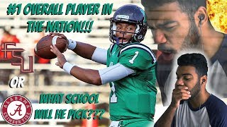 The #1 Player/qb In High School!!!!!- Justin Fields Highlights [reaction]