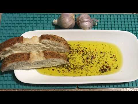 Garlic-Herbs Infused Olive Oil just like Italian Restaurant/ Flavored Olive oil-Edible