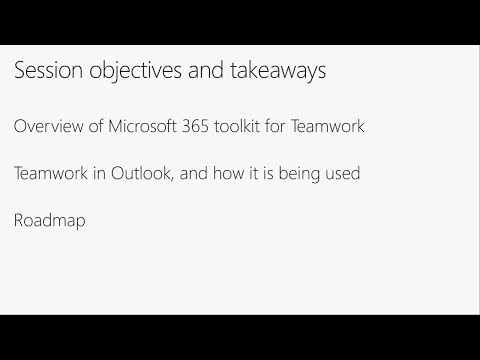 What can you do with Office 365 Groups in Outlook? - BRK1074