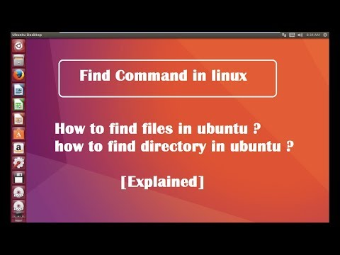 find command with examples in linux ubuntu [ explained ]