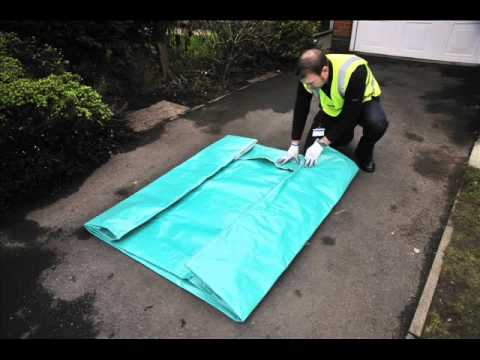 Britwrap reusable Mattress Cover - Folding instructions