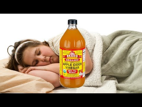 How to Lose Weight As You Sleep With Apple Cider Vinegar