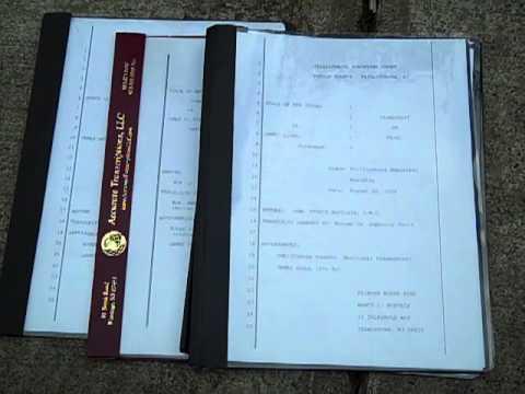 NJ Municipal Appeal Transcripts