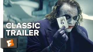 The Dark Knight (2008) Official Trailer #1 - Christopher Nolan Movie HD