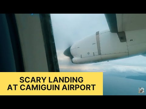 Scary Landing at Camiguin Airport