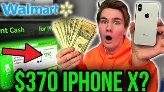 I Sold My iPhone X at Walmart for $370