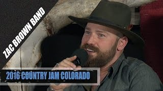Zac Brown Tells an Unbelievable Kenny Chesney Story
