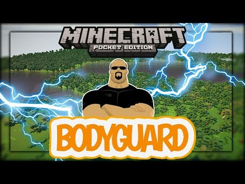 How to make ur own bodyguard| minecraft pe| command block (no mods)