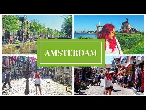 Amsterdam + Holland (The Netherlands ) Travel VLOG | Kristen goes to Europe 🇳🇱️