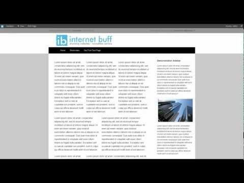 Wordpress CMS Tutorial - Creating a multi column layout
