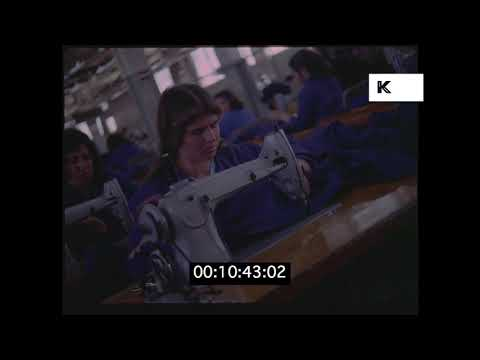 1950s, 1960s Egypt Factory, Manufacturing, from 35mm | Kinolibrary