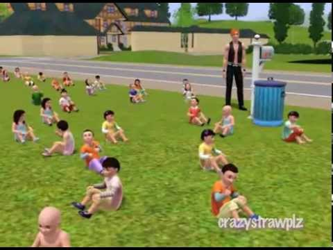 Sims 3 82 Toddlers?!?