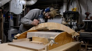 Torus Coffee Table - Part 2 - Shaping the Sides