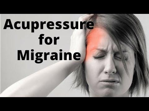 Acupressure for Migraine Headache - Massage Monday #378