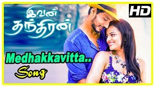 Ivan Thanthiran Movie Scenes | Gautham propose to Shraddha | Medhakkavitta Song | RJ Balaji
