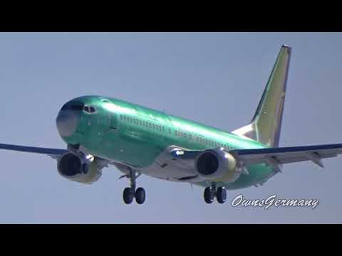 Ryanair Boeing 737-800 EI-FTV 1st Flight Missed Approach @ KMWH Moses Lake