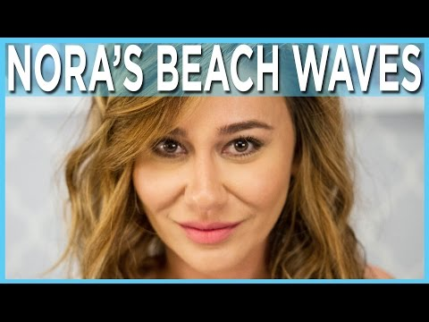 Messy Beach Waves Tutorial For Short Hair