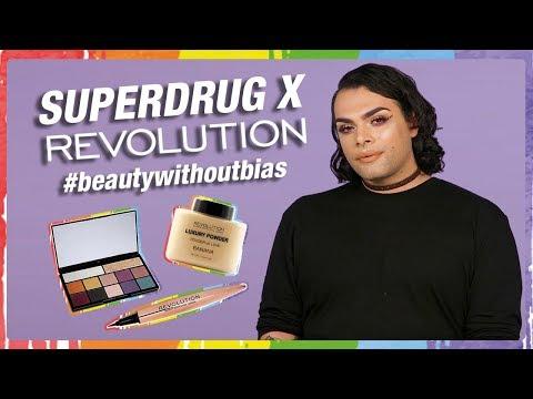 Superdrug X Revolution | CarmiMua Pride Makeup Look | #beautywithoutbias