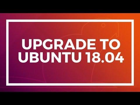 How to Upgrade To Ubuntu 18.04 from Ubuntu 17.10