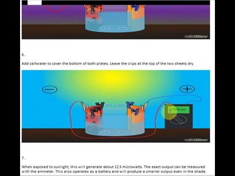 How to make your own solar panel with copper sheet   Khadam Ali