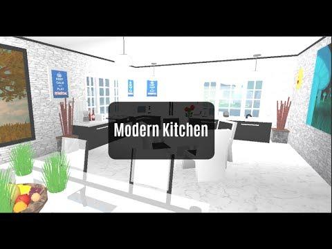 ROBLOX | Bloxburg Room Designs: Modern Kitchen | Ep.3