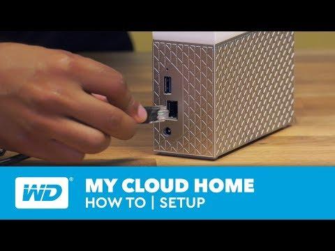 My Cloud Home How-to | Setup
