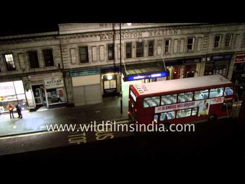 Londoners emerge from Paddington train station