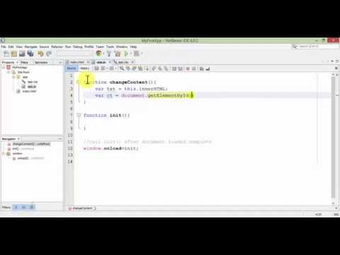 HTML5, CSS3, and Java Script with Netbean IDE 8