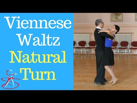 Viennese Waltz Basic Steps - The Natural Turn