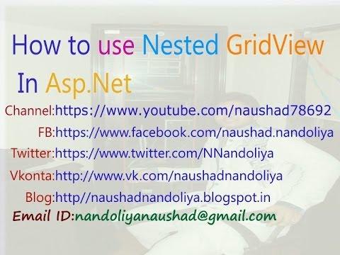 NestedGridView (GridView inside GridView) in Asp.Net 4.0