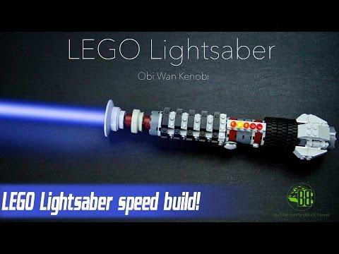 LEGO Lightsaber speed build - Obi Wan