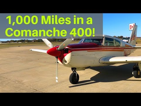 FLYING YOUR OWN PLANE/Comanche 400- student pilot and dad
