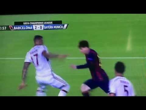 #Unbelievable Check soccer players tweet to what Messi did at the champions league semi finals