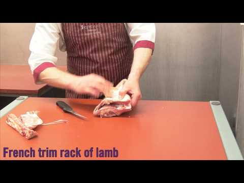 French Trim Rack of Lamb